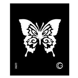 Snowflakes Zwarte Tattoo Sjabloon