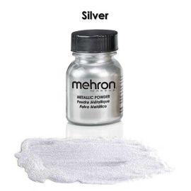 Mehron Metallic Powder Silver