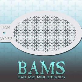 Bad Ass Bams Schmink Sjabloon 2033