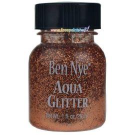 Ben Nye Aqua Glitter Blauw