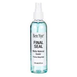 Ben Nye Final Seal  Deze populaire makeup sealer houdt de make-up waterdicht en zorgt dat deze urenlang blijft zitten.