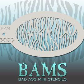 Bad Ass Bams FacePaint Stencil 3009