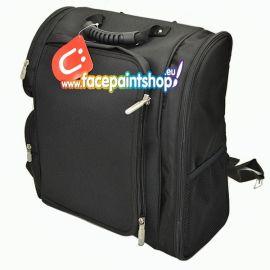 ZUCA ARTIST BACKPACK   Een stijlvolle tas collectie voor ambulante artiesten die houden van style, organisatie en perfectie. De tas bied een optimale bescherming voor al uw producten. Wat wil je nog meer! De opberg plek voor schminkers, bodypainters, vi