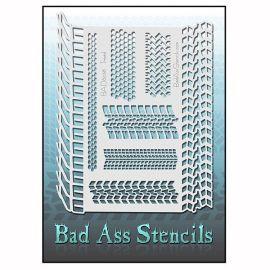 Bad Ass Stencil 2029 Tread