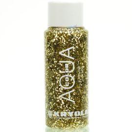 Kryolan Liquid Aquacolor Glitter Gold