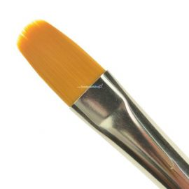 Global Colours Filbert Brush 3/4 Inch