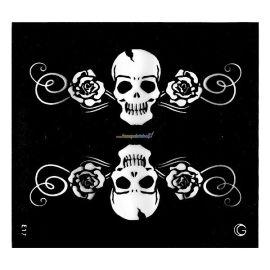 Glimmer HD Tattoo Medium (Skulls & Roses)