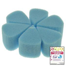 Paint Pal Lux Tear Drop Petal Sponge 6-pack