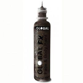 Global FX Glittergel Jet Black