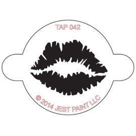 Tap Schmink Sjabloon Lip Print