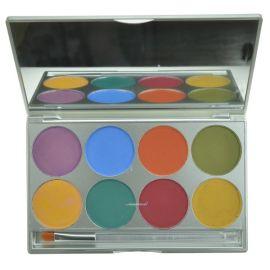 Mehron Paradise Makeup AQ 8-Color Palette Nuance