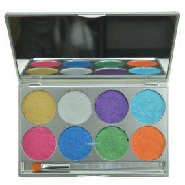Mehron Paradise Makeup AQ 8-Color Palette Brïllant