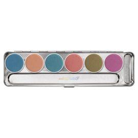 Kryolan Aquacolor Interferenz palette 6 colors