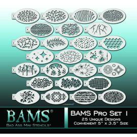 Bad Ass 36 Stencils Uitbreidingsset Set 2000