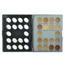 Kryolan Hd Micro Foundation Cream Mini-Palette 18 colors (1)