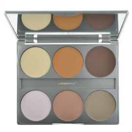 Kryolan Dual Finish Silhouette Palette 6 Colors