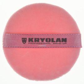 Kryolan Premium Powder Puff Pink Small
