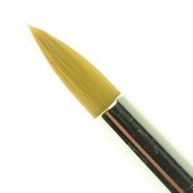 Royal Brush Soft Grip 255 (6)  Deze penselen zijn ergonomisch gevormd met een dikke acrylsteel en anti slip handvat, de Soft-Grip.