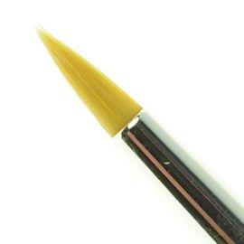 Royal Brush Soft Grip Schminkpenseel (4)  Deze penselen zijn ergonomisch gevormd met een dikke acrylsteel en anti slip handvat, de Soft-Grip.