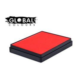 Global Aqua Schmink Neon Orange Square Container