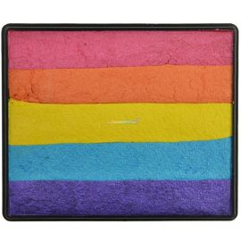 Sillyfarm Punk Rock Rainbow Cake