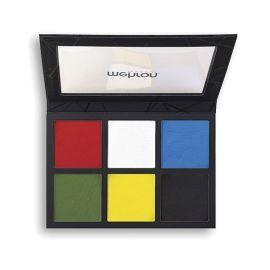 Mehron Edge Makeup 6 Kleuren Palette 168gr  Introductie van Mehron EDGE ™, een andere innovatie in gezichts- en lichaamsmake-up van Mehron! Ontworpen als het ultieme compliment voor Paradise Makeup AQ ™, biedt EDGE de extreme opbrengst, dekking, luxe ge