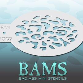 Bad Ass Bams Schmink Sjabloon 1002