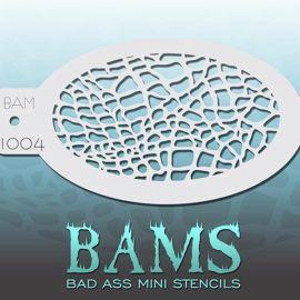 Bad Ass Bams FacePaint Stencil 1004