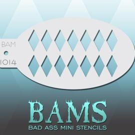 Bad Ass Bams FacePaint Stencil 1014