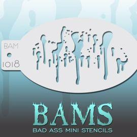 Bad Ass Bams FacePaint Stencil 1018