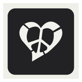 Glittertattoo Sjabloon Emoji Paws (5 pack)