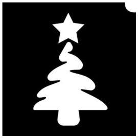 Glittertattoo Stencils Christmas Tree (5 pack)