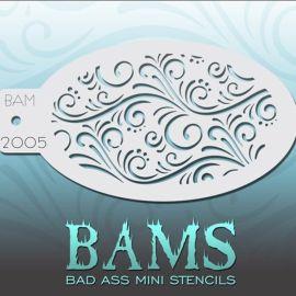 Bad Ass Bams FacePaint Stencil 2005