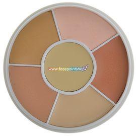 Ben Nye Total Conceal All Wheel NK-11  Wees volledig voorbereid op oneffenheden en huidverkleuringen met onze sterk gepigmenteerde tinten