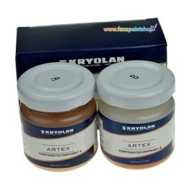Kryolan Artex  Kryolan Artex Ideal for the creation of three dimensional skin effects such as wounds, scars and burns – and for concealing unwanted skin anomalies.