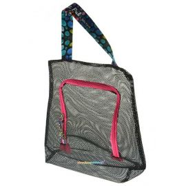 Sillyfarm Paint Pal Mesh Bag  Mesh Bags are great to store stencils, sponges, business cards and more. This color three pack features three different size zipper mesh bags.