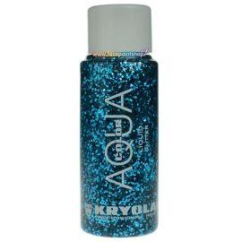 Kryolan Liquid Aquacolor Glitter Turqoise 30ml