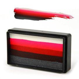 Siilyfarm Arty Brush Tattoo Rose Brush  Arty Brush Cakes zijn de nieuwste sensatie in het gezicht en body painting.