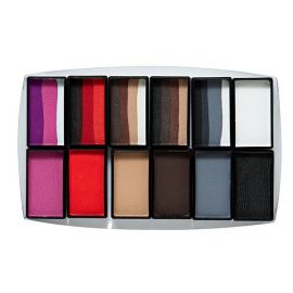 Global Animal Designs Furry Friends Palette 12 Colors  Global Colours' face and body paint is a painter's dream come true. With bold, vivid colours and a smooth consistency,