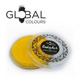Global Face & Body Paint Yellow 32gr  With a far superior paint composition and consistency than anything achieved before, even the most demanding professionals can now turn their biggest ideas into their greatest works.