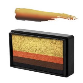 Arty Brush Cake Natalee Davies Tigress  Arty Brush Cakes are the newest sensation in Face and Body Painting. ABC's are miniature rainbow cakes that are used with a brush to create amazingly blended designs with one stroke of your brush