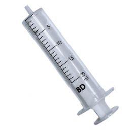 Injectiespuit 20ml  Ideale spuit voor het afvullen van latex of bloed.