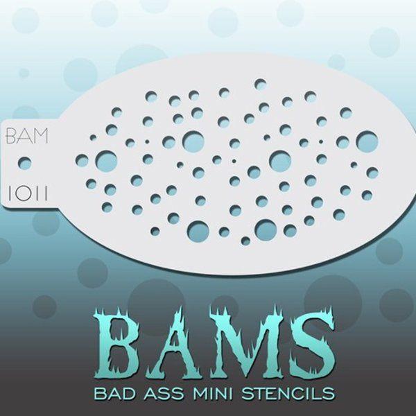 Bad Ass Bams Schmink Sjabloon 1011