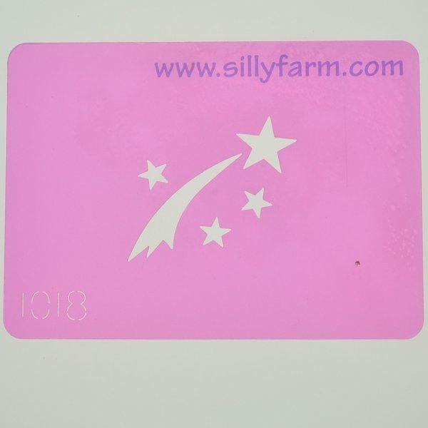 Silly Farm Stencil Vliegende Ster