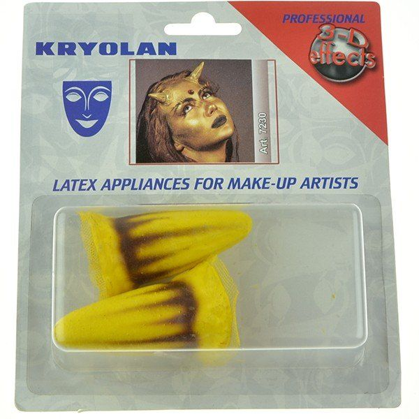 Kryolan latex yelow horns