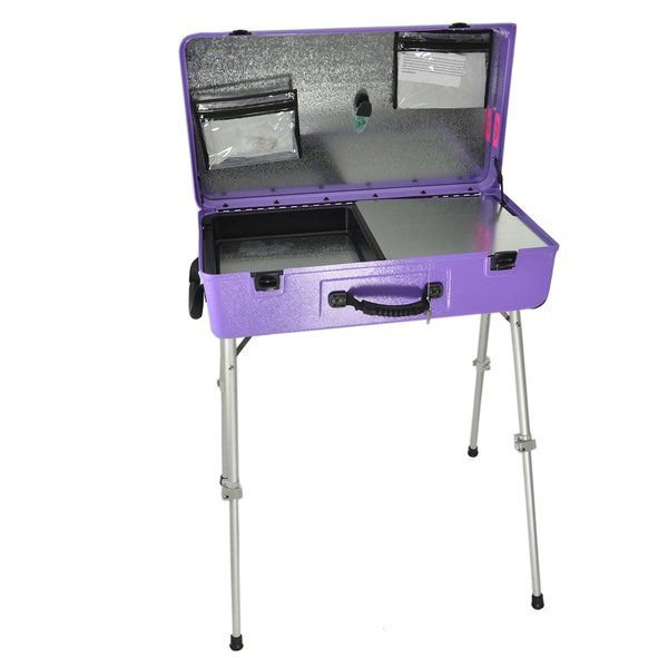 Craft-N-Go Workstation Paars Met Accessoires