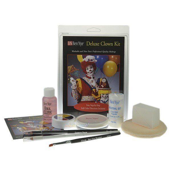 Ben Nye Deluxe Clown Kit