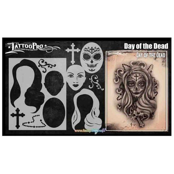 Wiser Airbrush Tattoo Day Of The Dead