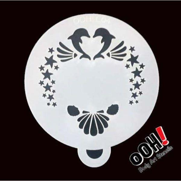 oOh Body Art Stencils C04