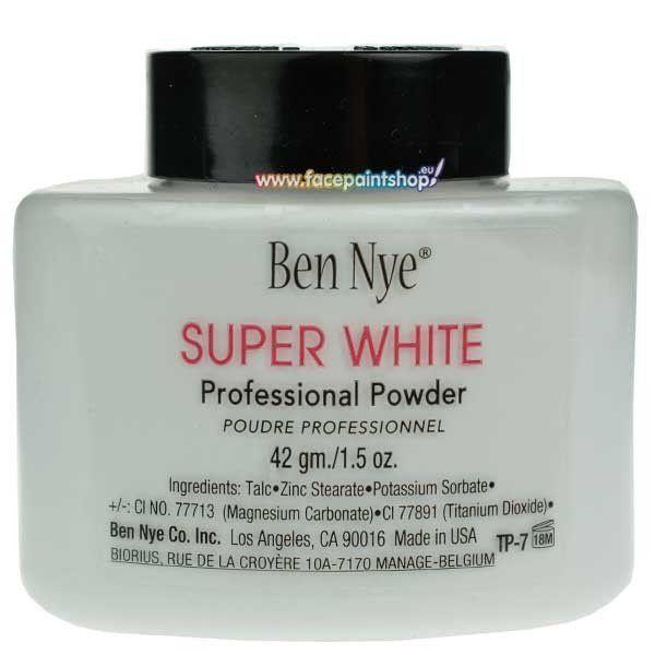 Ben Nye Super White Powder 42gr